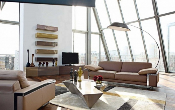 Modern living room designs to spruce up your living (1)