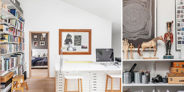 Modern Nordic house in black and white (13)