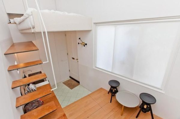 Modern options in city living tiny house in London Adorable Home