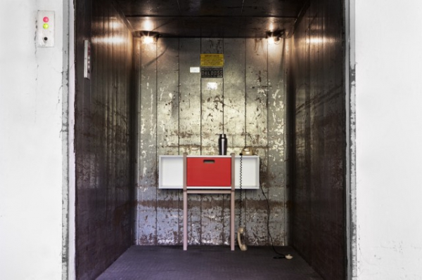 Modern wood console by Gloria Colleoni  (2)