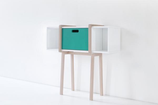 Modern wood console by Gloria Colleoni  (3)