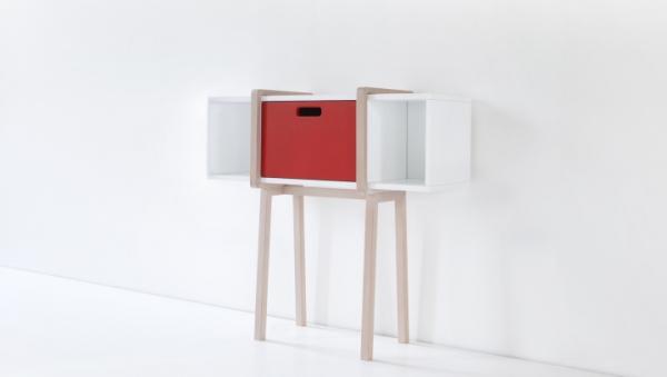 Modern wood console by Gloria Colleoni  (4)