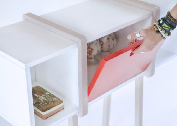Modern wood console by Gloria Colleoni  (5)