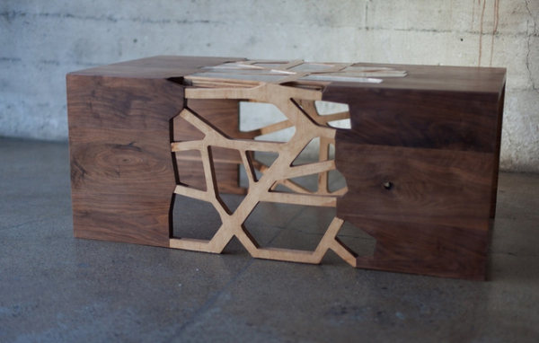 Modern wooden coffee table from Design Matter (1)