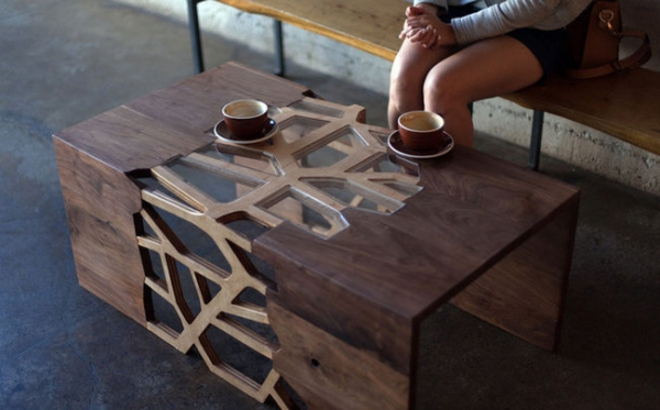 wooden coffee tables. modern wooden coffee table from design matter (3) tables
