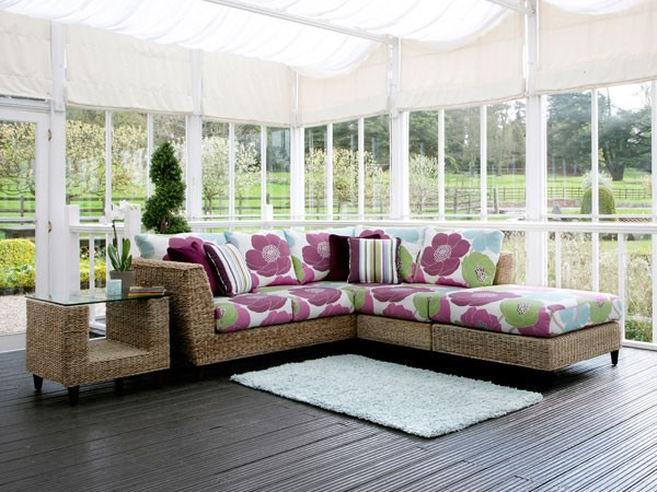 Natural home decor with rattan furniture  (11)