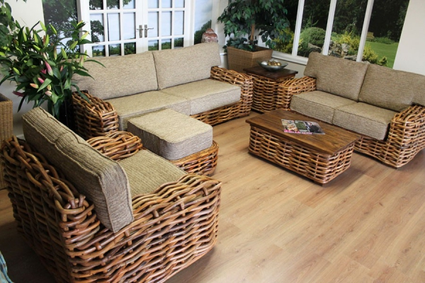 Natural Home Decor With Rattan Furniture Adorable Home
