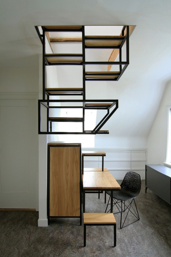 Object eleve industrial explorations in staircase storage (2)