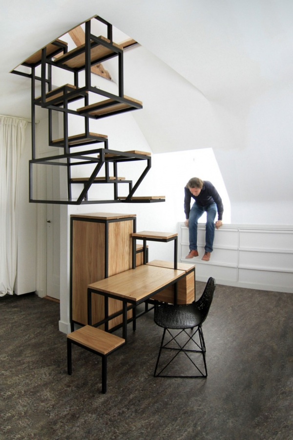 Object eleve industrial explorations in staircase storage (3)