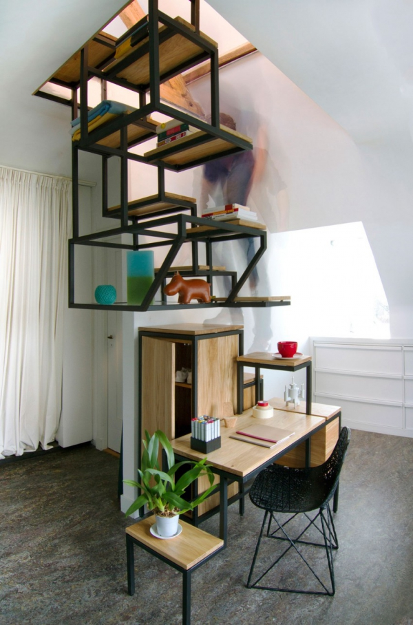 Object eleve industrial explorations in staircase storage (5)