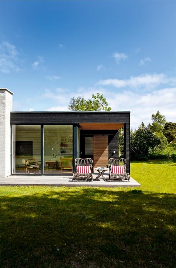 Single Storey House Design: One-storey House In Denmark