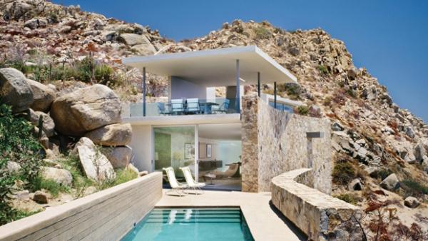Panoramic villa in mexico adorable home for Interieur villa design
