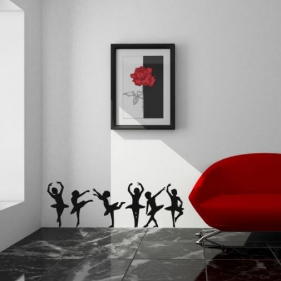 People Silhouette Wall Stickers