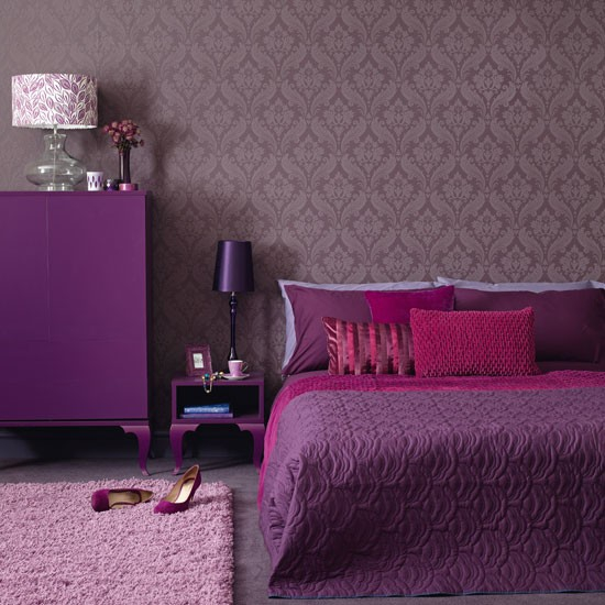 Home Interior Design Bedrooms: Perfect Purple Bedrooms