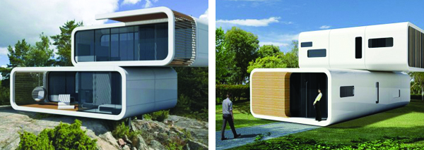 Prefabricated Modular Structures By Coodo Adorable Home