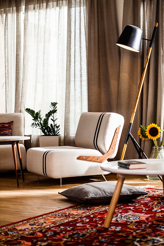 Private Apartment Boasts Eclectic