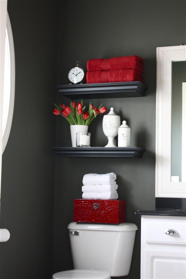 Quick and pretty toilet decor (1)