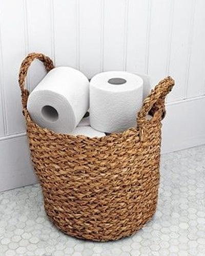 Quick and pretty toilet decor (10)