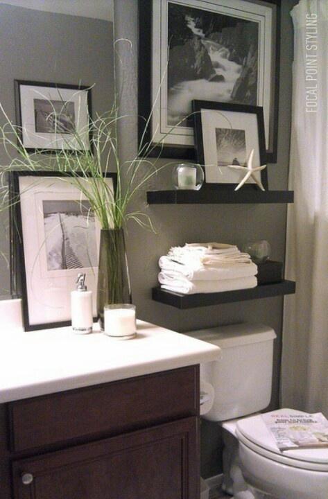 Quick And Pretty Toilet Decor Adorable Home