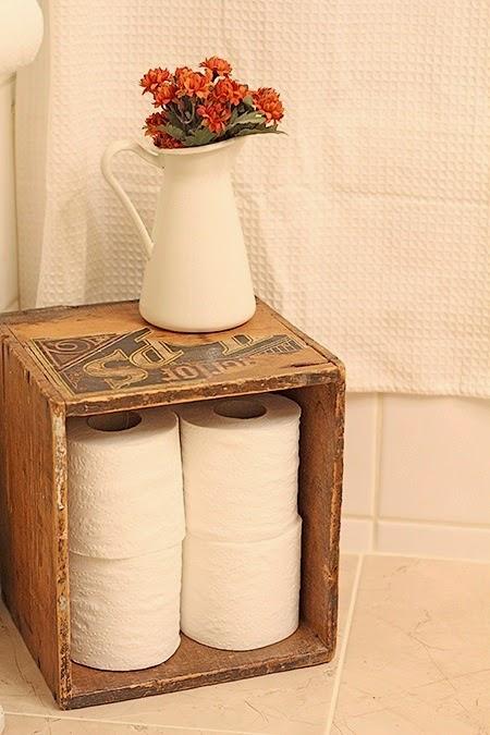 Quick and pretty toilet decor (8)