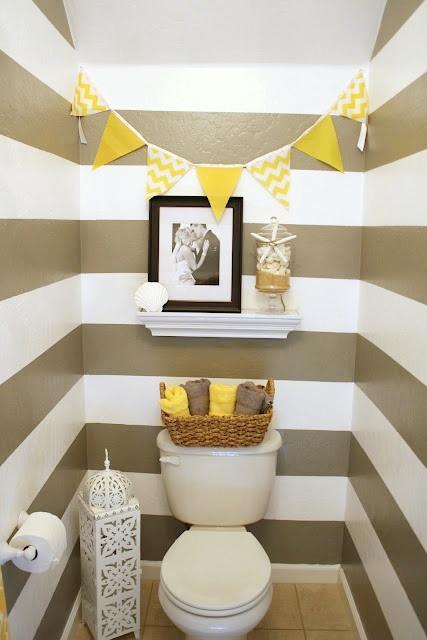 Quick and pretty toilet decor (9)