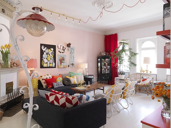 Quirky style apartment adorable home for Quirky apartment design