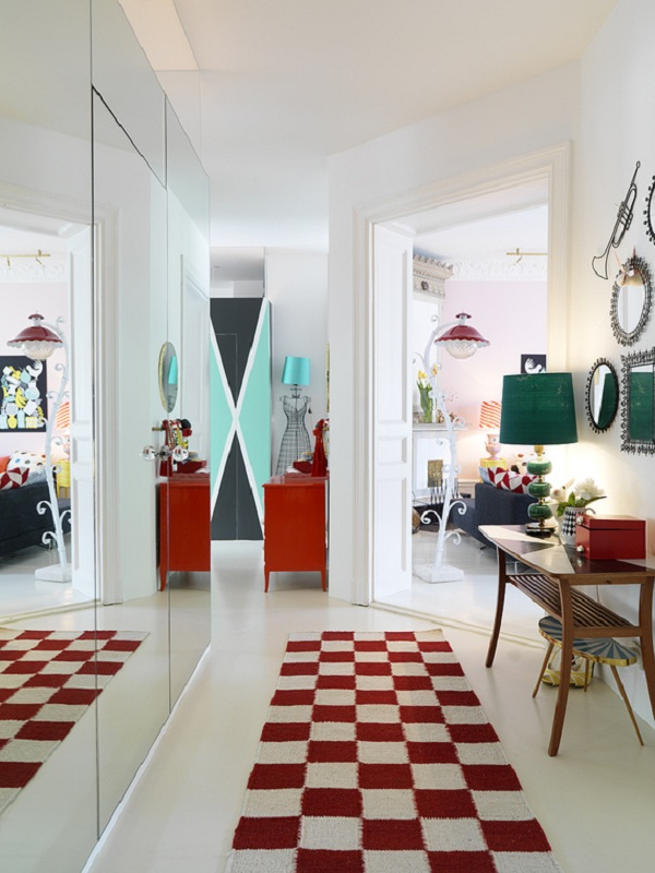 Quirky style apartment adorable home for Quirky interior design ideas