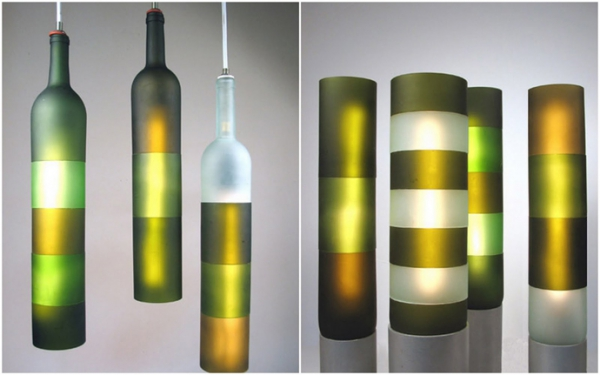 Recycled Wine Bottles With Style – Adorable Home