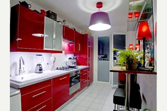 red kitchen designs 8