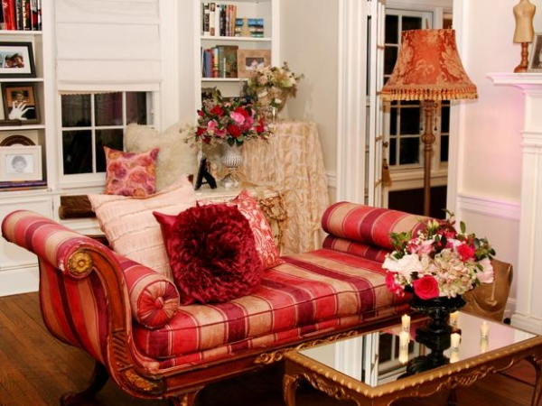 Red Living Room Design Ideas 9
