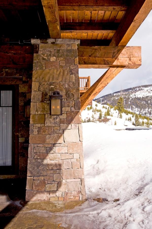 Reinterpreting The Rustic Modern Winter Retreat Montana