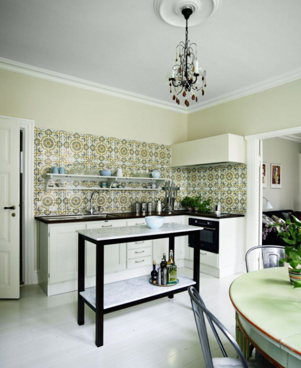 Restyle with retro kitchen tiles 8