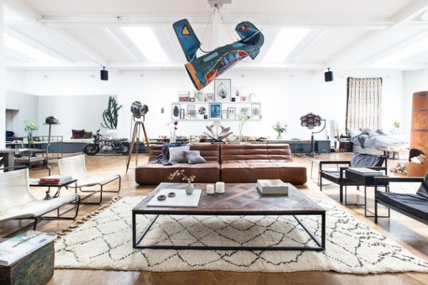 an open plan space Loft I Amsterdam (1)
