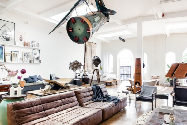 an open plan space Loft I Amsterdam (2)
