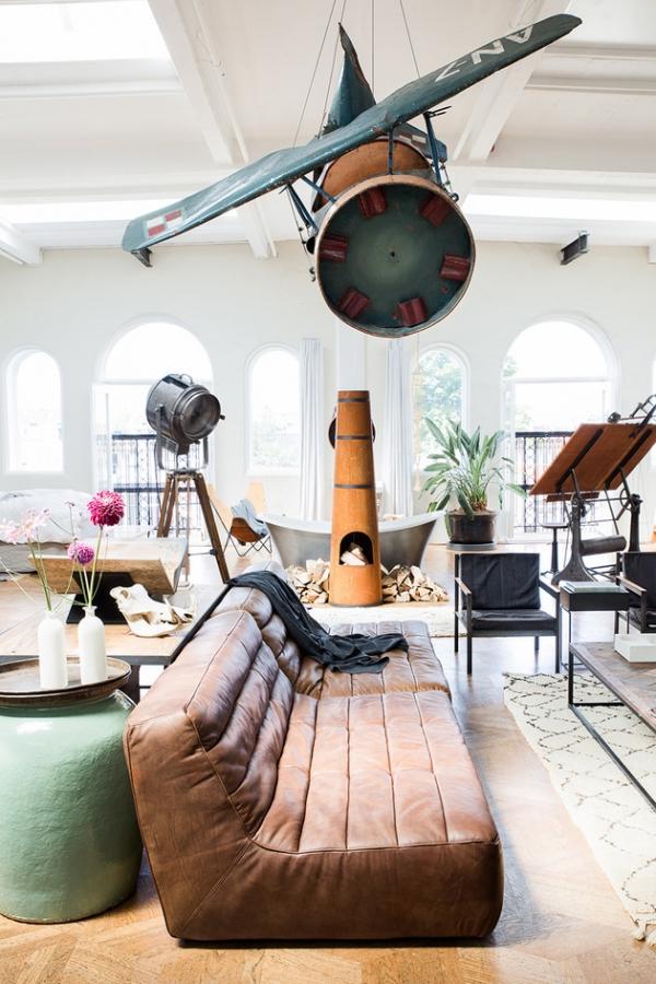an open plan space Loft I Amsterdam (3)