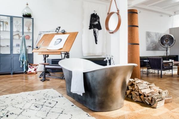 an open plan space Loft I Amsterdam (8)