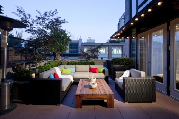 Revitalizing balcony and terrace design ideas adorable home for Terrace decoration ideas