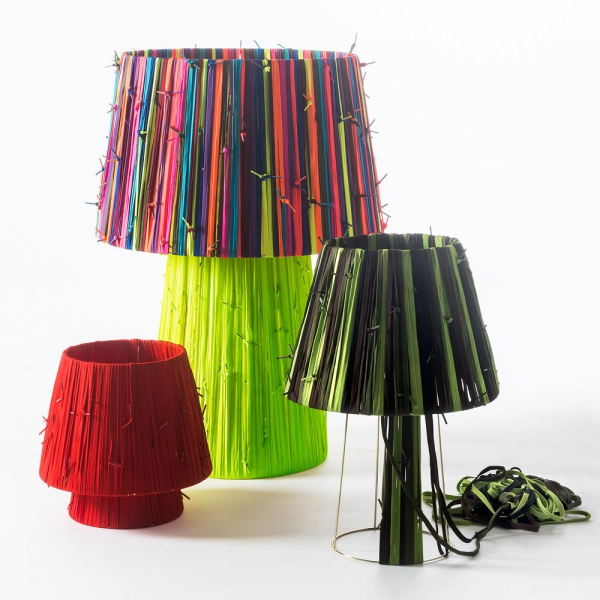 Reviving the reclaimed shoelaces lamps (1)