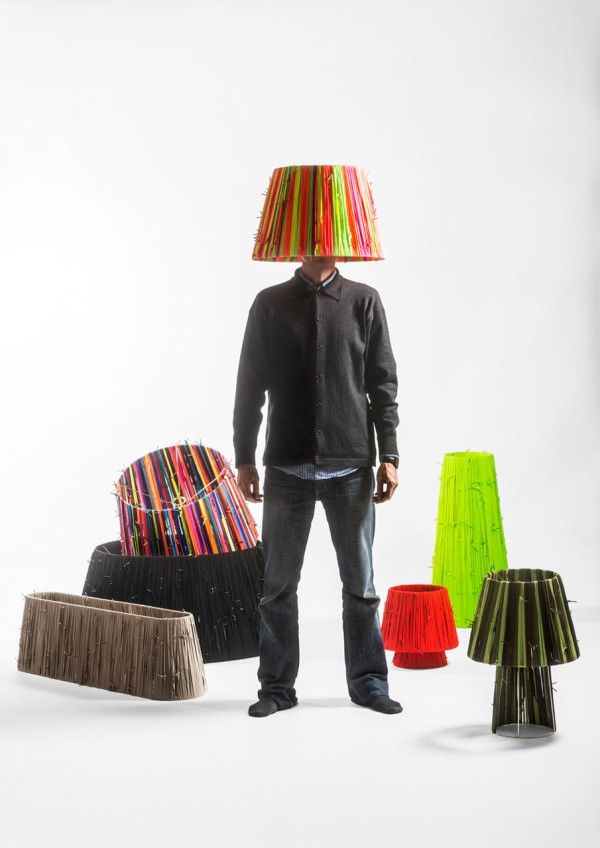 Reviving the reclaimed shoelaces lamps (2)