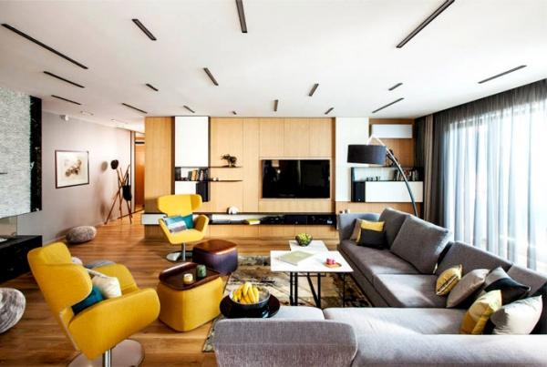 rich design in a spacious modern apartment – adorable home