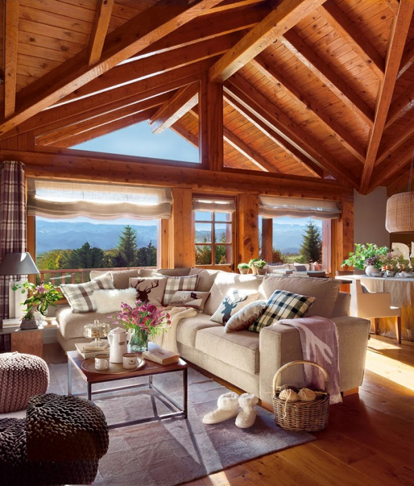 Romancing the rustic charming chalet (1)