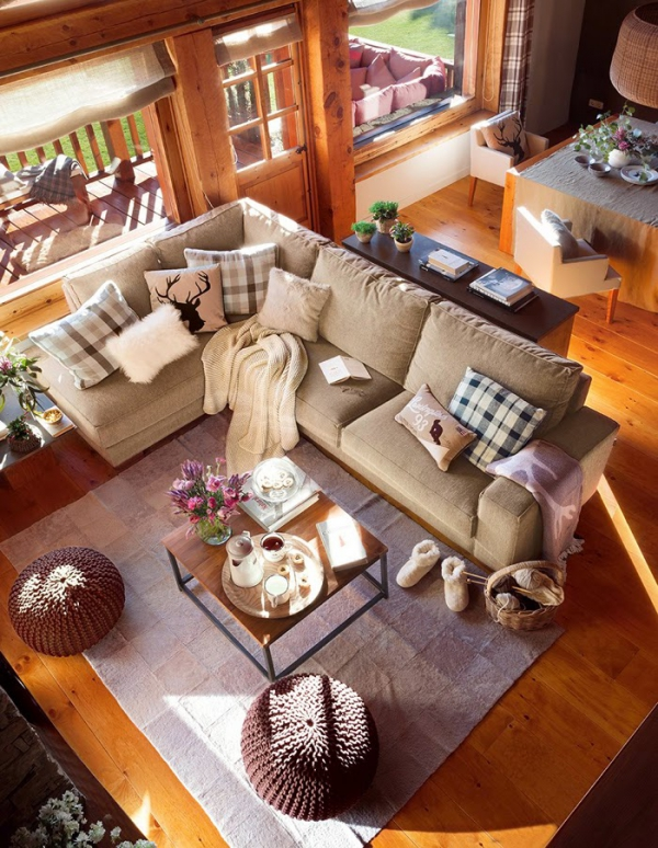 Romancing the rustic charming chalet (2)