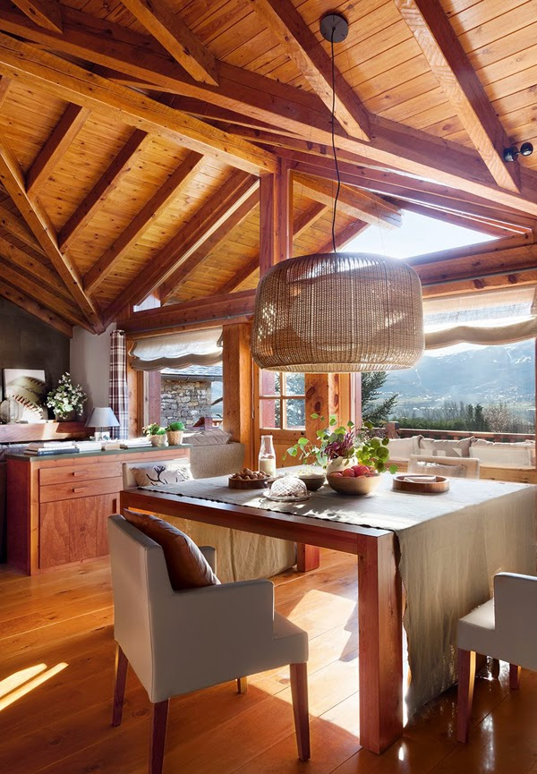 Romancing the rustic charming chalet (4)