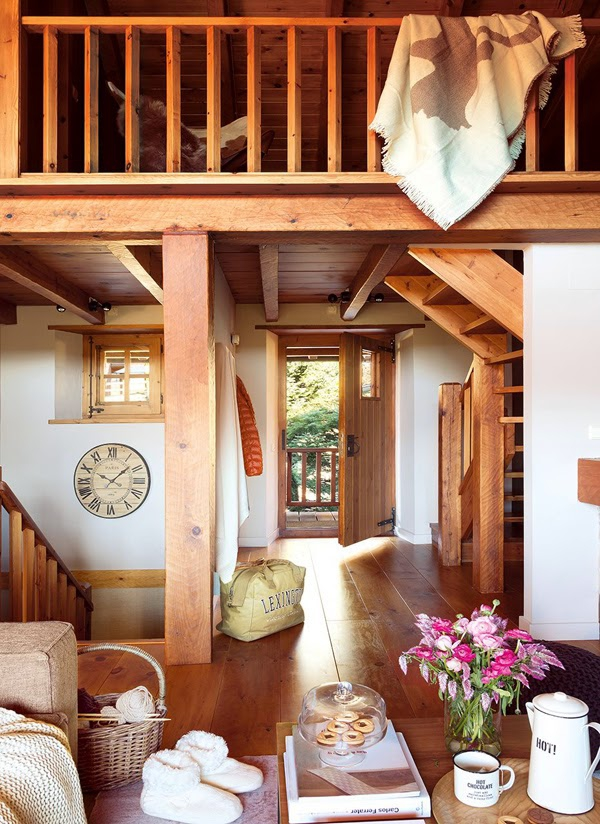 Romancing the rustic charming chalet (5)