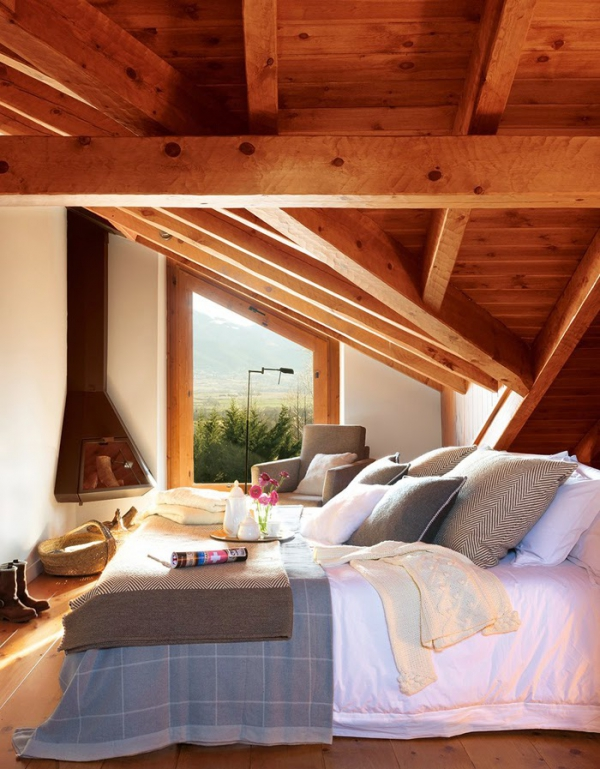 Romancing the rustic charming chalet (7)