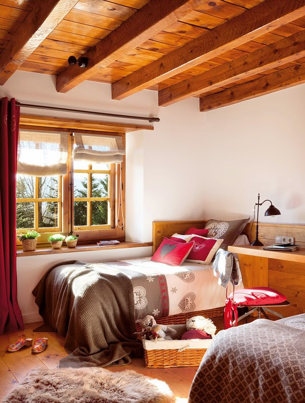 Romancing the rustic charming chalet (8)
