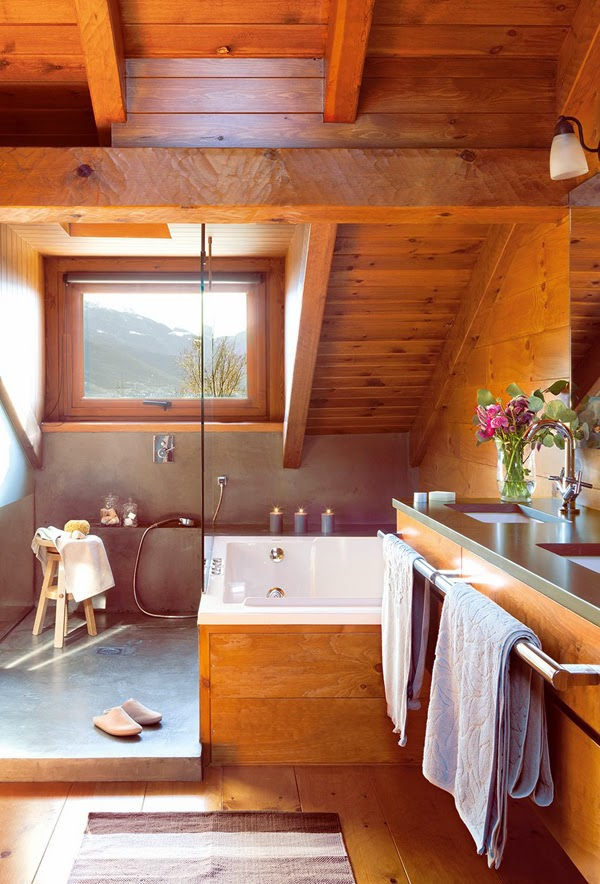 Romancing the rustic charming chalet (9)
