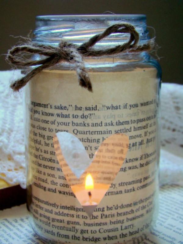 Handmade romantic present