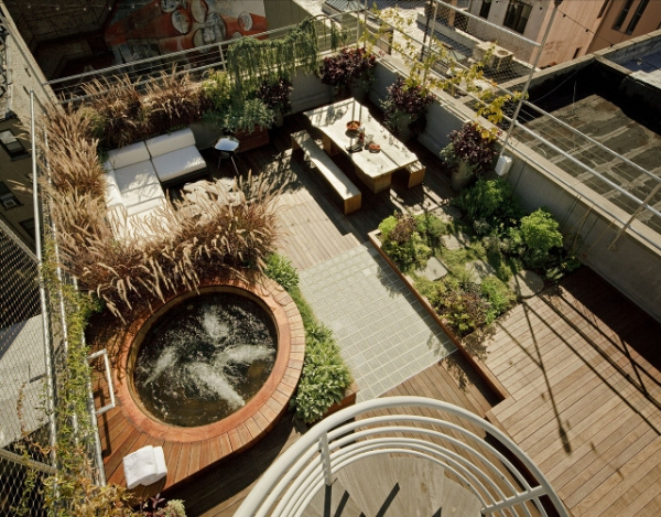 Roof garden oasis Adorable Home