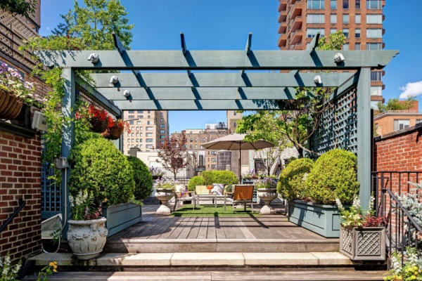 Roof terrace in the Big Apple (1)
